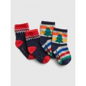 Holiday Crew Socks (2-Pack)