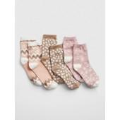 Print Crew Socks (3-Pack)