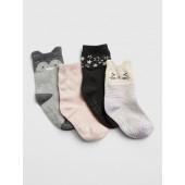 Critter Crew Socks (4-Pack)