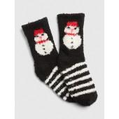 Cozy Graphic Socks