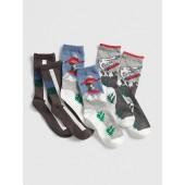 Snowboard Crew Socks (3-Pack)