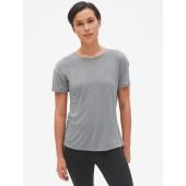 GapFit Short Sleeve V-Back T-Shirt