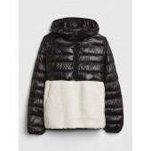GapFit Sherpa Puffer Jacket