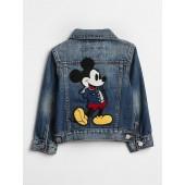 babyGap &#124 Disney Mickey Mouse Denim Jacket