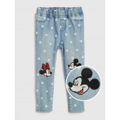babyGap &#124 Disney Mickey Mouse and Minnie Mouse Jeggings with Fantastiflex