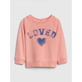 Graphic Sweatshirt in Fleece