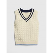 Cable-Knit Sweater Vest