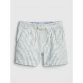 Seersucker Pull-On Shorts