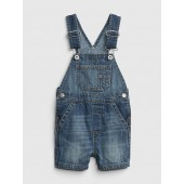 Baby Denim Shortalls
