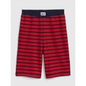 Stripe PJ Shorts in French Terry