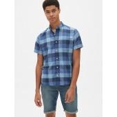 a764edd5469a Lived-In Stretch Oxford Short Sleeve Shirt