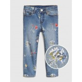 Floral Skinny Jeans with Fantastiflex