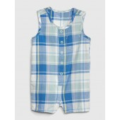 Plaid Tank Shorty One-Piece