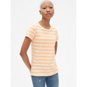 Vintage Stripe Short Sleeve Crewneck T-Shirt