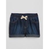 Denim Pull-On Shorts