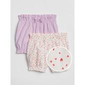 Heart Bubble Shorts (2-Pack)