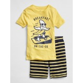 Banana Short PJ Set
