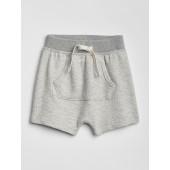 Waffle-Knit Pull-On Shorts