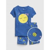 Emoji Short PJ Set