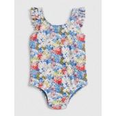 Floral Ruffle Swim One-Piece