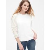 Vintage Soft Colorblock Raglan Sweatshirt