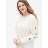Vintage Soft Graphic Raglan Sweatshirt