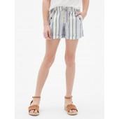 Stripe Pull-On Shorts