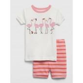 Baby Graphic Short PJ Set