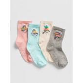 Graphic Crew Socks (4-Pack)