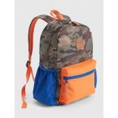 Kids Camo Colorblock Senior Backpack