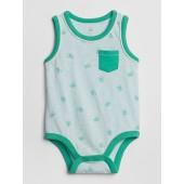 Baby Print Tank Bodysuit