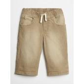 Khaki Pull-On Shorts