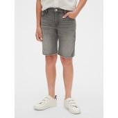 Kids Raw-Hem Denim Shorts