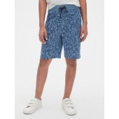 Pull-On Shorts in Jersey