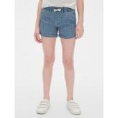 Denim Dot Pull-On Shorts