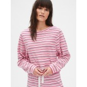Terry Towel Crewneck Sweatshirt