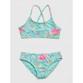 Floral Strappy Swim Two-Piece