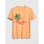 Graphic Pocket T-Shirt