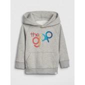babyGap + Pride Gap Logo Hoodie Sweatshirt