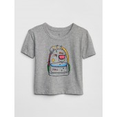 Toddler Interactive Graphic Short Sleeve T-Shirt