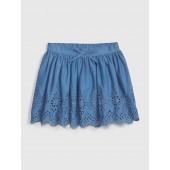 Toddler Eyelet Flippy Skirt