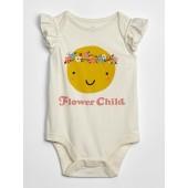 Baby Ruffle Graphic Bodysuit