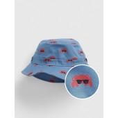 Crab Print Bucket Hat