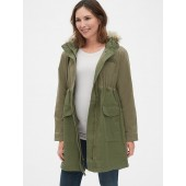 Maternity Satin Lined Parka