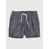 Baby Chambray Print Shorts