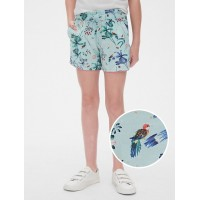 Kids Floral Pull-On Shorts