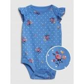 Baby Print Flutter Bodysuit