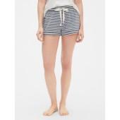 Roll-Cuff Drawstring Shorts