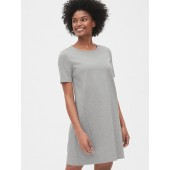 Maternity Side-Zip Nursing Dress in Ponte