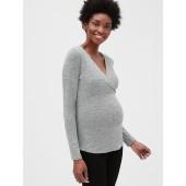 Maternity Softspun Crossover Top